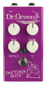 "Ashdown Dr Green ""Doctors Note"" Envelope Filter Pedal For Bass Designed Specifically for Bass Players"