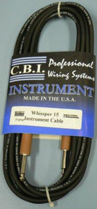 CBI 15 FT GTR CABLE HOT SHRINK WHISSPER-15