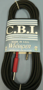 CBI 25 FT GTR CABLE HOT SHRINK WHISSPER-25