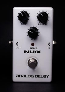 NU-X Analog Series AD-3 Analog Delay Effects Pedal