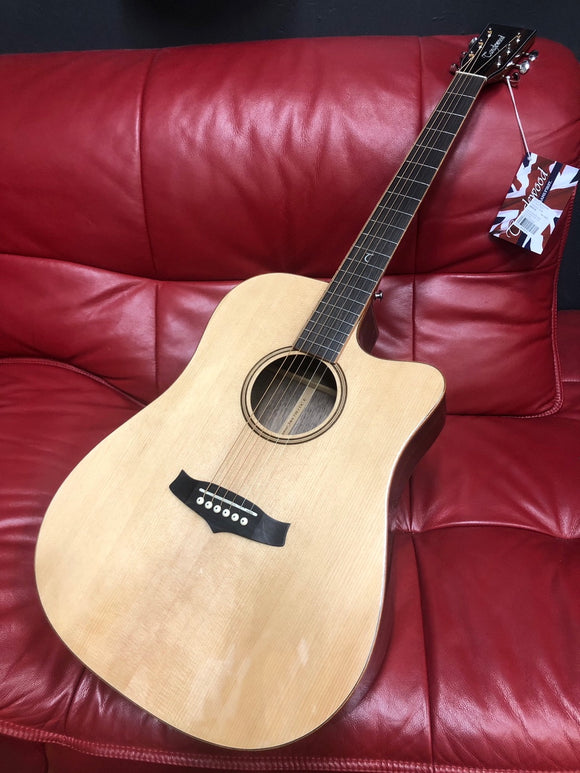 Tanglewood JAVA Dreadnought with Cutaway and Pickup - TWJDCE
