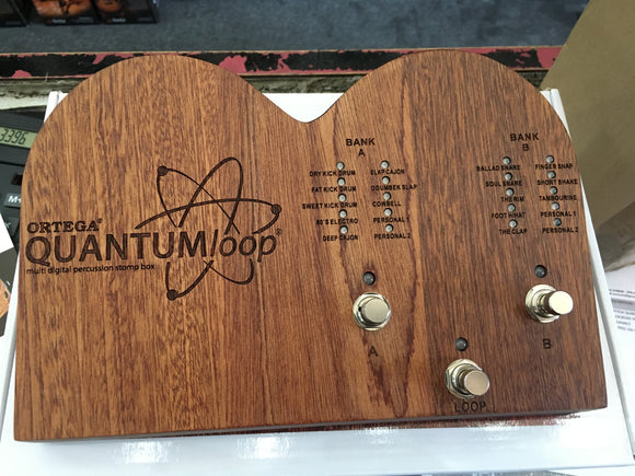 Ortego Quantumloop sampler stomp box