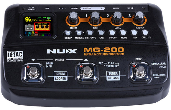 NUX MG-200 effects Processor