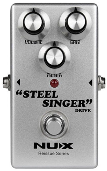 NU-X Reissue Series Steel Singer Drive Effects Pedal