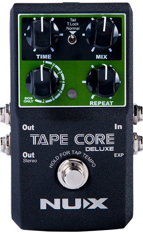 NU-X Core Stompbox Series Tape Core Deluxe Tape Echo Effects Pedal