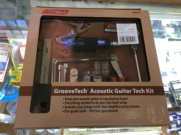 GrooveTech Acoustic guitar Tool Kit