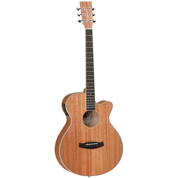 Tanglewood UNION Superfolk with Solid Top, Pickup/Tuner and Cutaway - TWUSFCE