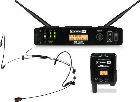 Line 6 XD-V75HS-BL Digital Headset Microphone Wireless System