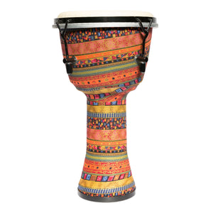 "Drumfire 8"" Tuneable Synthetic Head Djembe (Multicolour)"