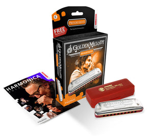 Hohner Golden Melody Harmonica - Key of C