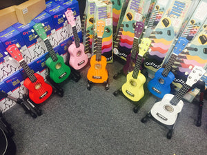 KeAloha Coloured Ukulele's  ( UK40 )