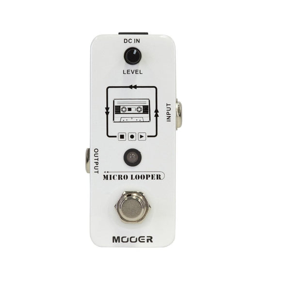 Mooer Micro Looper with Unlimited Overdubbing - MEP-ML