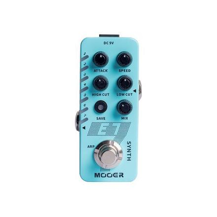 Mooer E7 guitar synth pedal