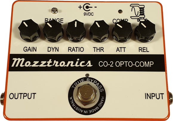 MOZZTRONICS OPTICAL COMPRESSOR PEDAL WITHOUT POWER SUPPLY