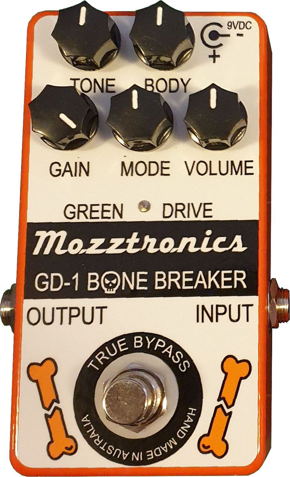 GD-1 BONEBREAKER PEDAL WITHOUT POWER SUPPLY