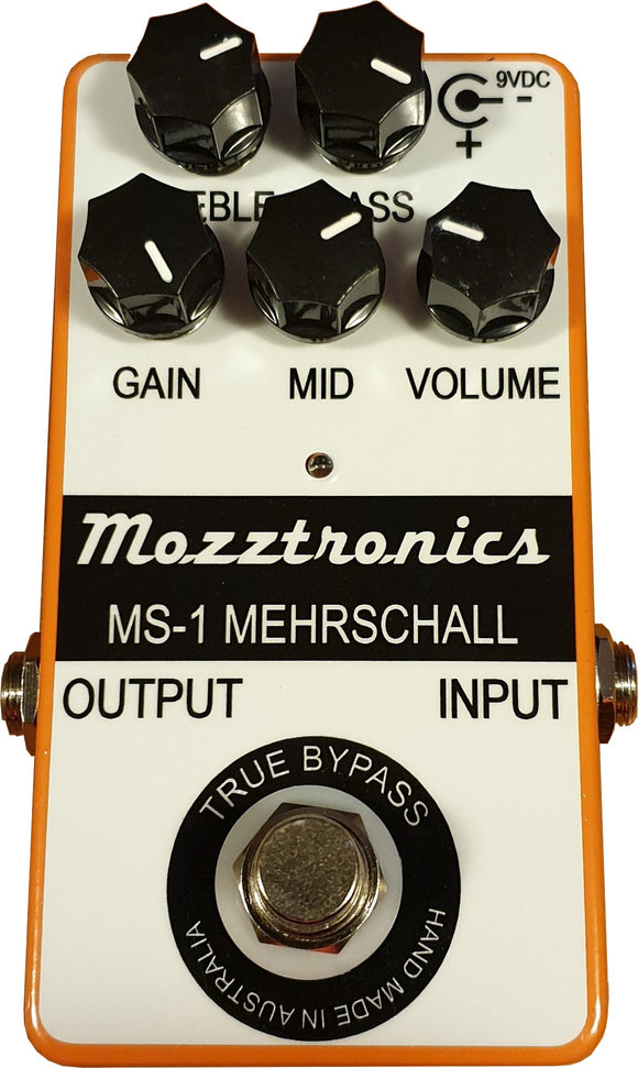 MEHRSCHALL PEDAL WITHOUT POWER SUPPLY