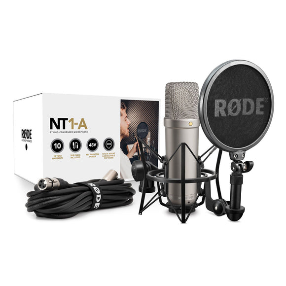 Rode NT1-A Condenser Microphone kit  .