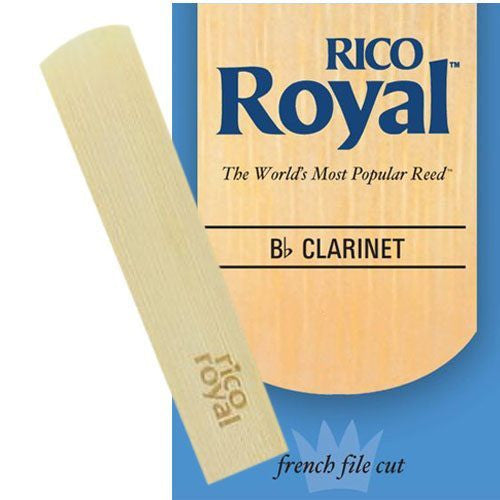 Rico Royal B Flat Clarinet Reeds (Box of 10)