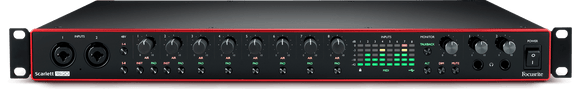 Focusrite Scarlett 18i20 3rd gen 18 in 20 out USB audio interface