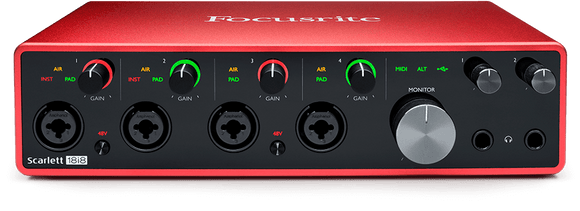 Focusrite Scarlett 18i8 interface