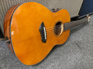 Yamaha Transacoustic LL-TA Brown sunburst ALL SOLID acoustic electric guitar