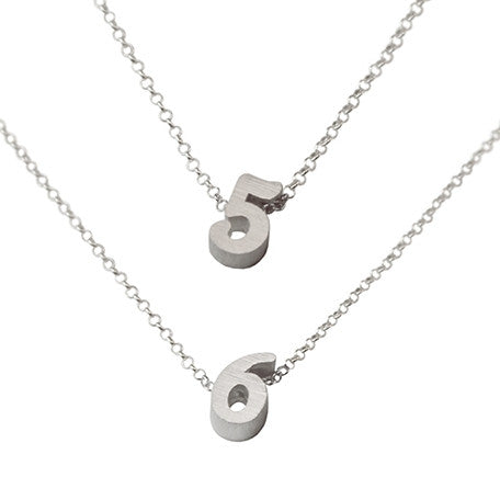Number 5 Necklace