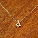 Initial Necklace - D