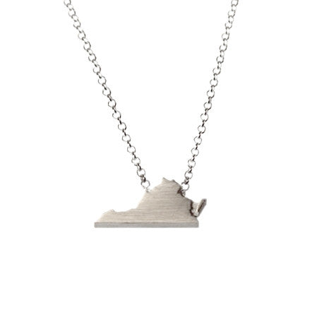 Virginia Silhouette Necklace