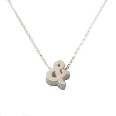Ampersand (&) Necklace