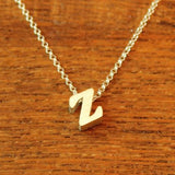 Initial Necklace - Z