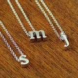 Initial Necklace - J
