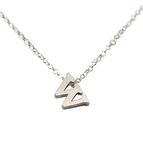 Initial Necklace - W