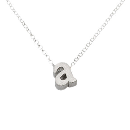 Initial Necklace - A