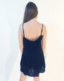 Hippie Summer Tribal Dress in Navy