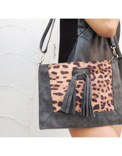 Leopard Prints Clutch Bag