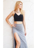 Class-chic Crop Top in Black