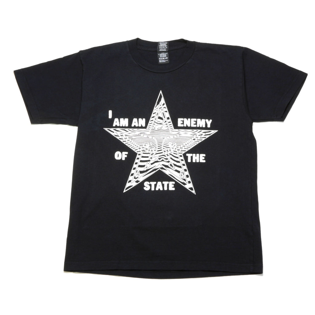 Enemy of the State Tee - Off Black
