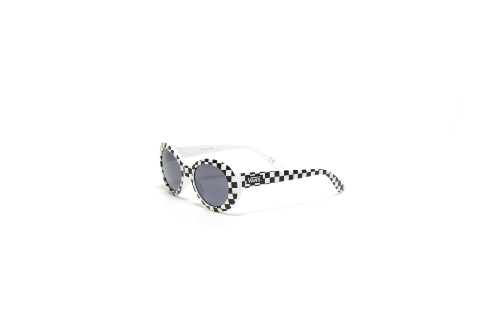 Grunge Girl Sunglasses - Black/White Checkerboard