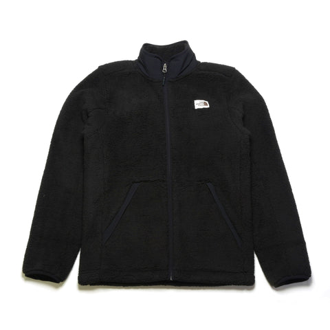 Essential Fleece Full Zip Hoodie - Black
