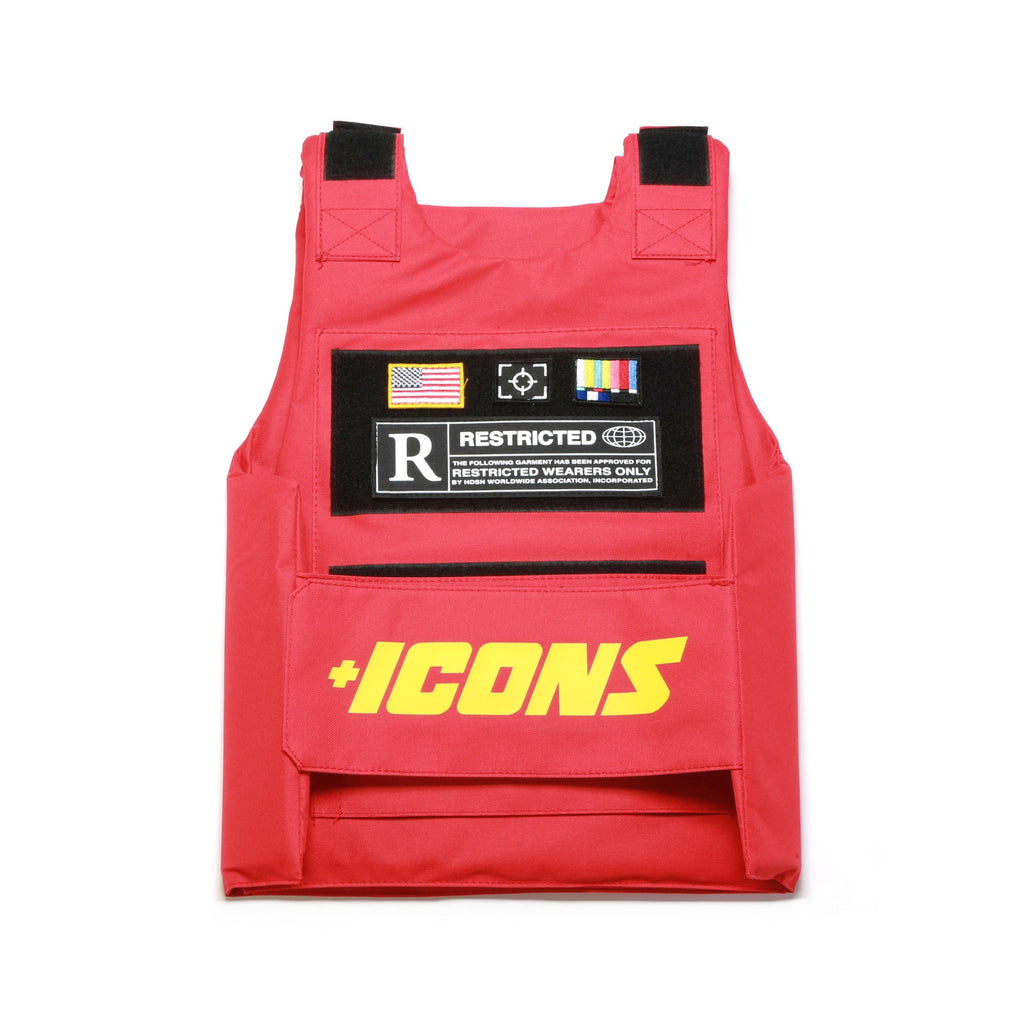 Icons Vest - Red