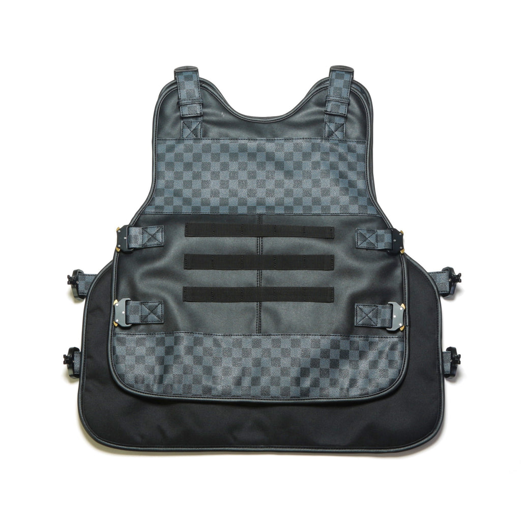 Lux Checkered Vest - Black