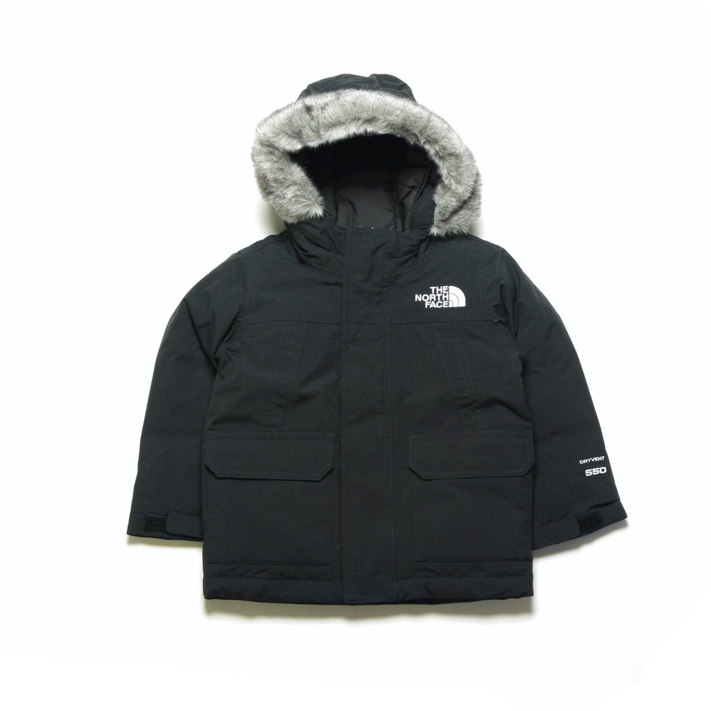 Toddler McMurdo Down Parka - Black