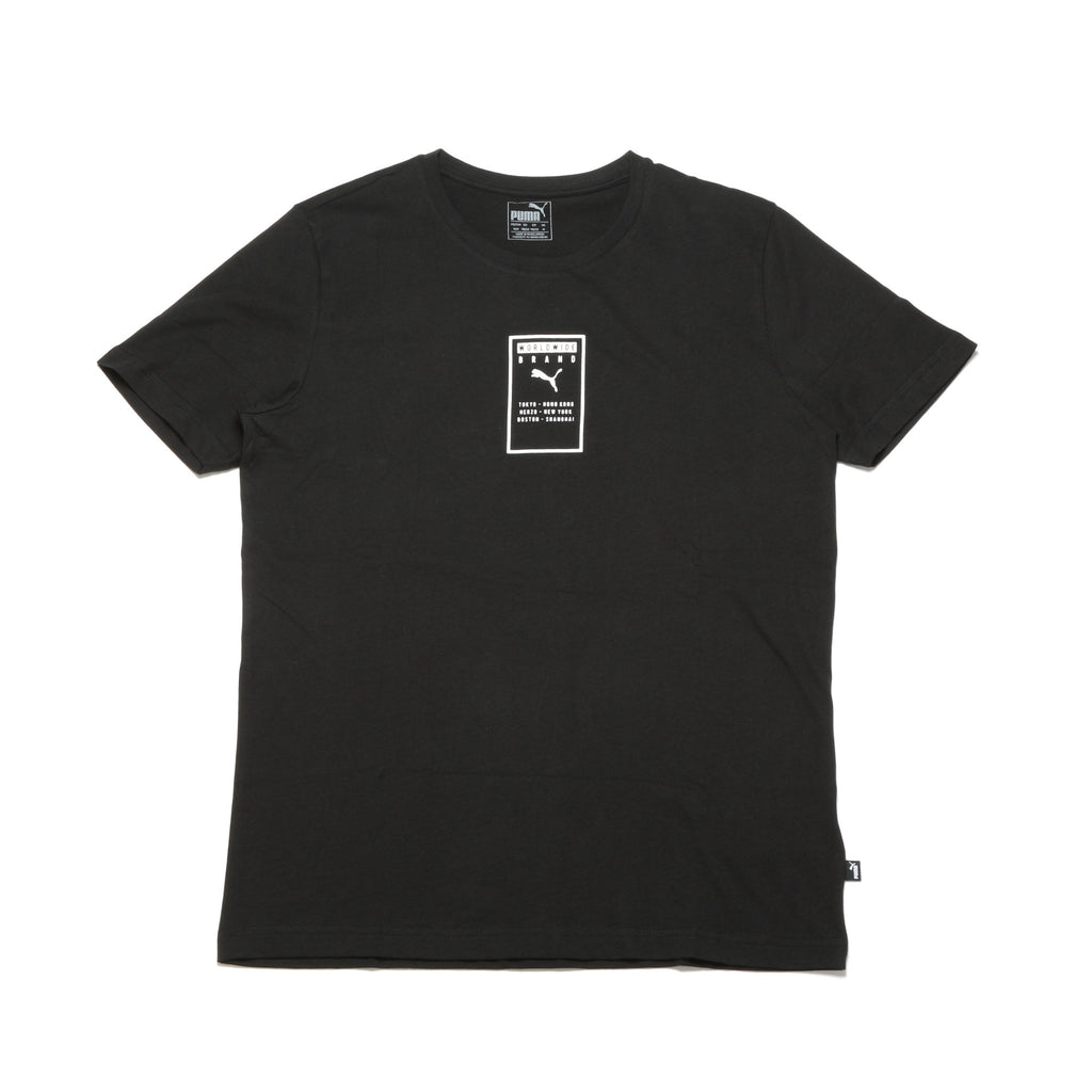 Brand Placed Tee - Black