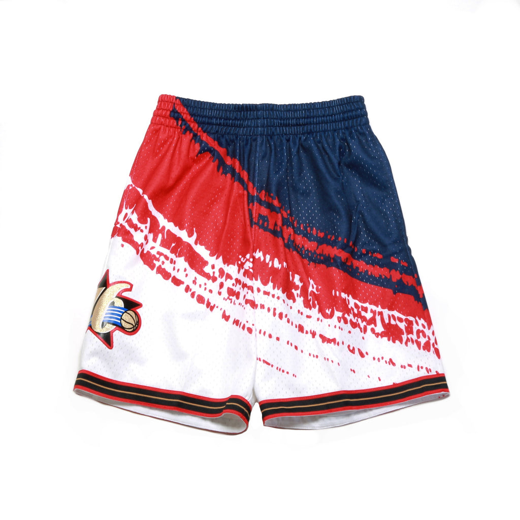NBA USA Swingman Shorts - (Philadelphia 76ers) Red/White/Blue