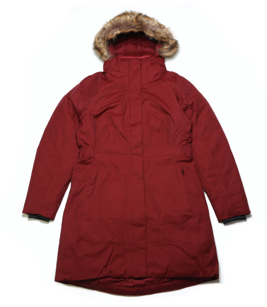 Women's Arctic Parka II - Deep Garnet Red
