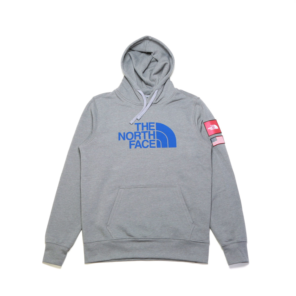 Americana Pullover Hoodie - Medium Grey Heather
