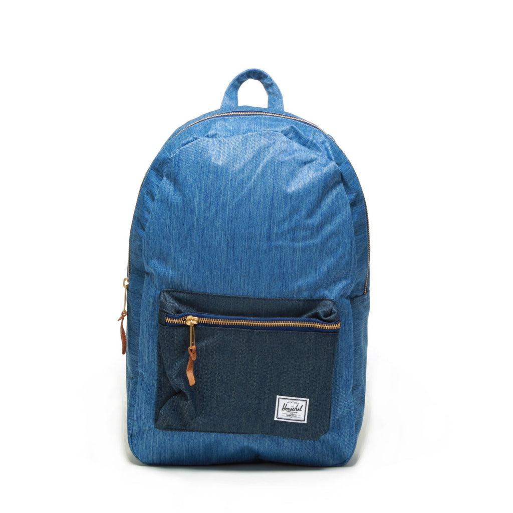 Settlement Backpack - Faded Denim/Indigo Denim