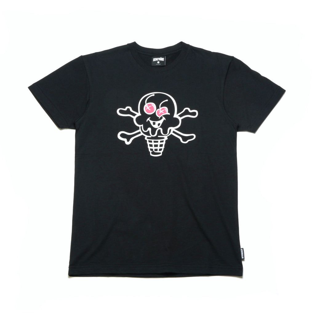 Cone and Bones SS Tee - Black