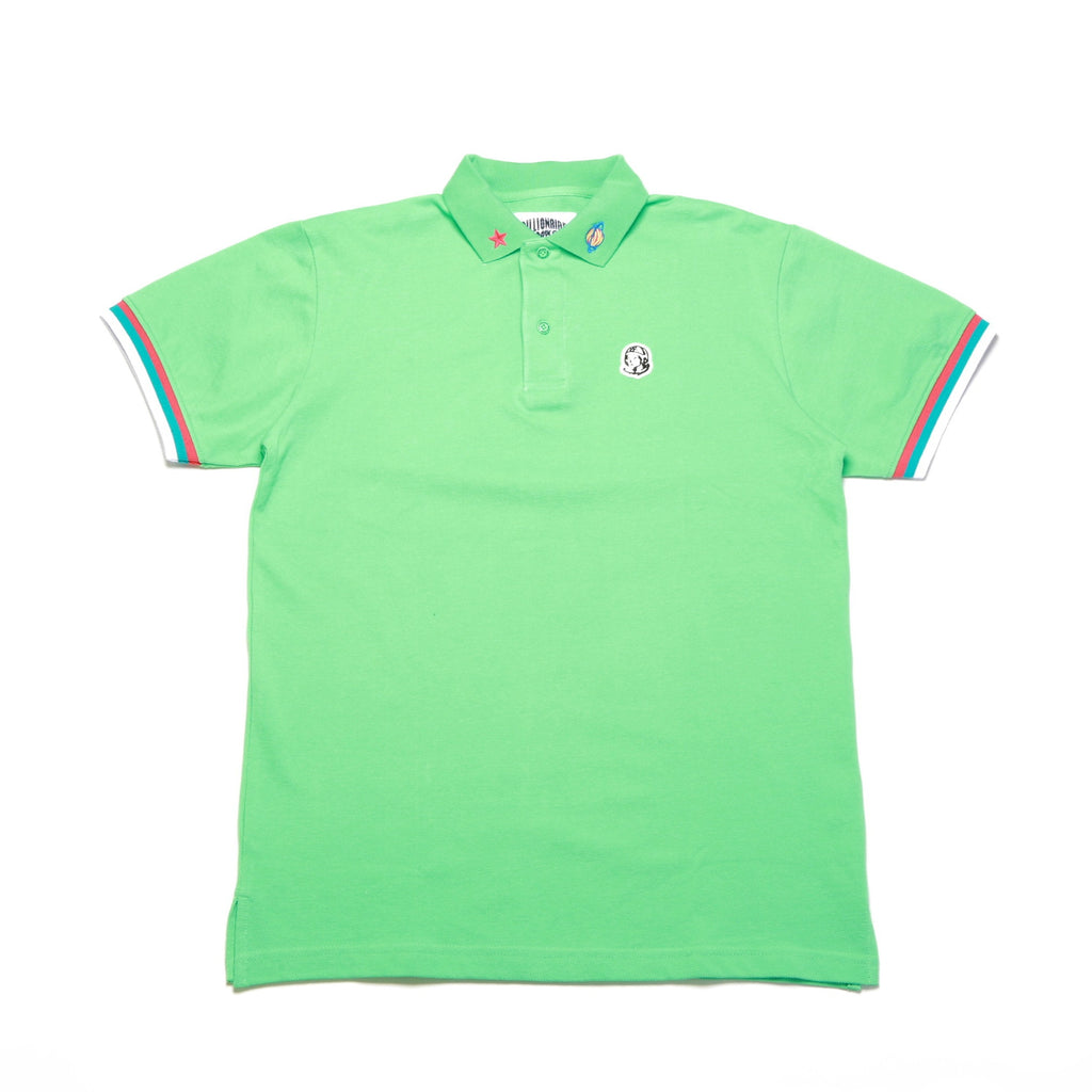 BB 3rd Eye SS Polo - Jade Cream