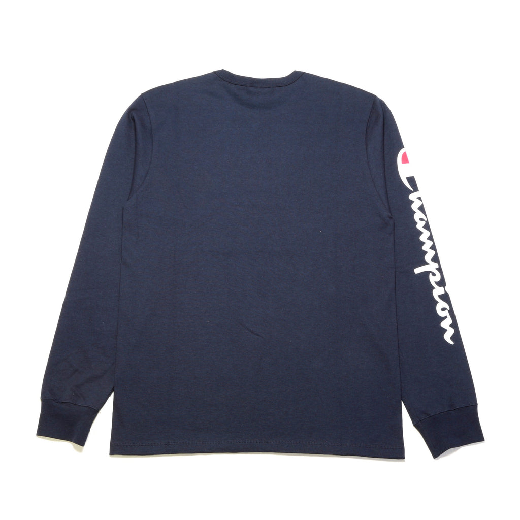 Heritage LS Tee - (Elevated Graphics) Navy